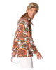 70er Jahre Herren Kostüm-Hemd