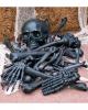 Bag of Bones Knochen Set Schwarz 28 St.