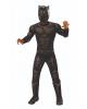 Black Panther Muskel-Kinderkostüm