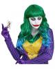 Evil Joker Ladies Wig