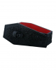 Gothic Coffin Box With Floral Pattern
