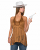 Hippie & Western Top With Fringes