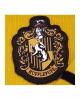 Hufflepuff Strickschal Gelb-Schwarz - Harry Potter