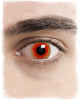 Red Monster Contact Lenses