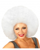 Huge Afro Wig White