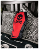 Coffin With Skull Decoration Pillow