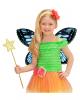 Schmetterlingsflügel Schwarz/Blau Kindergröße