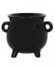Schwarze Hexenkessel Teelichthalter Duftlampe