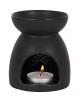 Schwarze Pentagramm Duftöl Lampe
