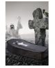 Black Foldable Halloween Coffin 150 Cm