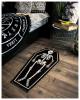 Skelett im Sarg Teppich