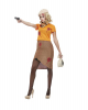30er Jahre Bonnie Gangster Lady Kostüm