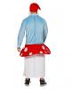Zwerg auf Pilz Herren Kostüm