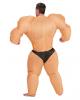 Bodybuilder Kostüm aufblasbar