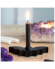Black Bat Candle Holder