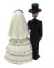 Skelett Brautpaar 14 cm