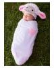 Süßes Lamm Baby Kostümsack