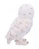 Weiße Schneeeule Figur 13,3cm
