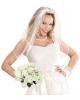 Weißer Brautstrauß Kostümzubehör