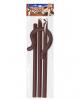 Brauner Hirtenstab 4-tlg - 148 cm