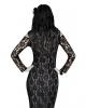 Elegantes Spitzen Skelett Kostüm
