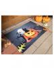 Halloween Fußmatte mit Kürbis & Katze Motiv