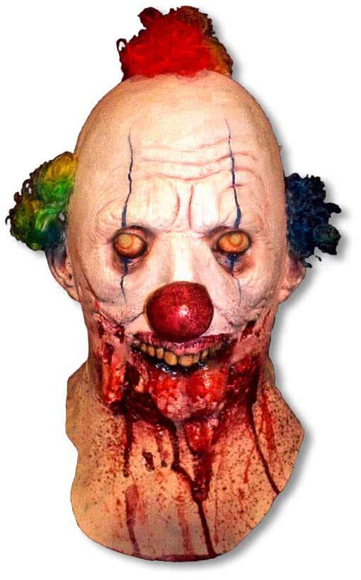 smiles zombie clown maske horror clown masken zum gruseln. Black Bedroom Furniture Sets. Home Design Ideas