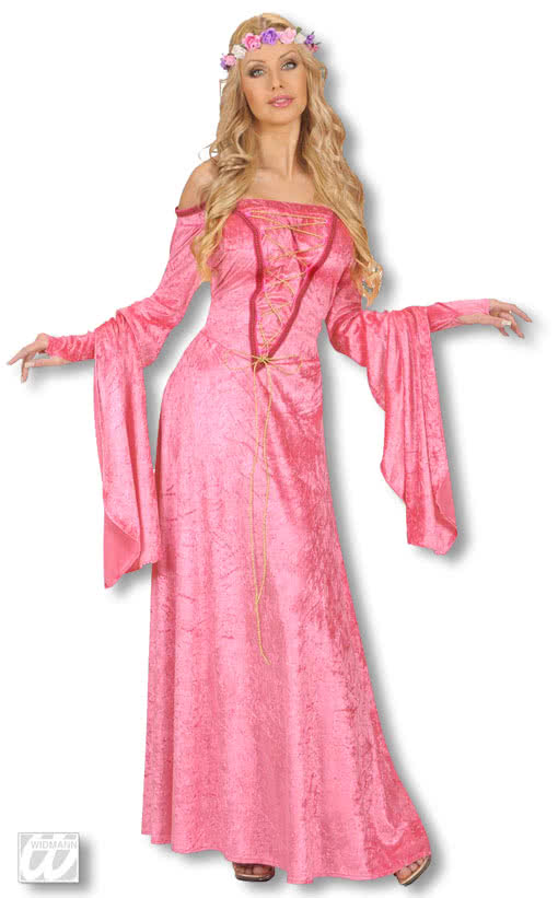 cinderella pink dress pink fairytale woman costume. Black Bedroom Furniture Sets. Home Design Ideas