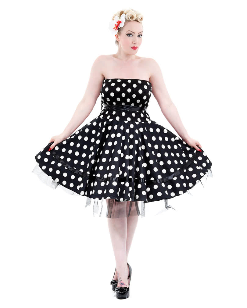 50s bandeau dress s 50s fashion rockabilly dress. Black Bedroom Furniture Sets. Home Design Ideas