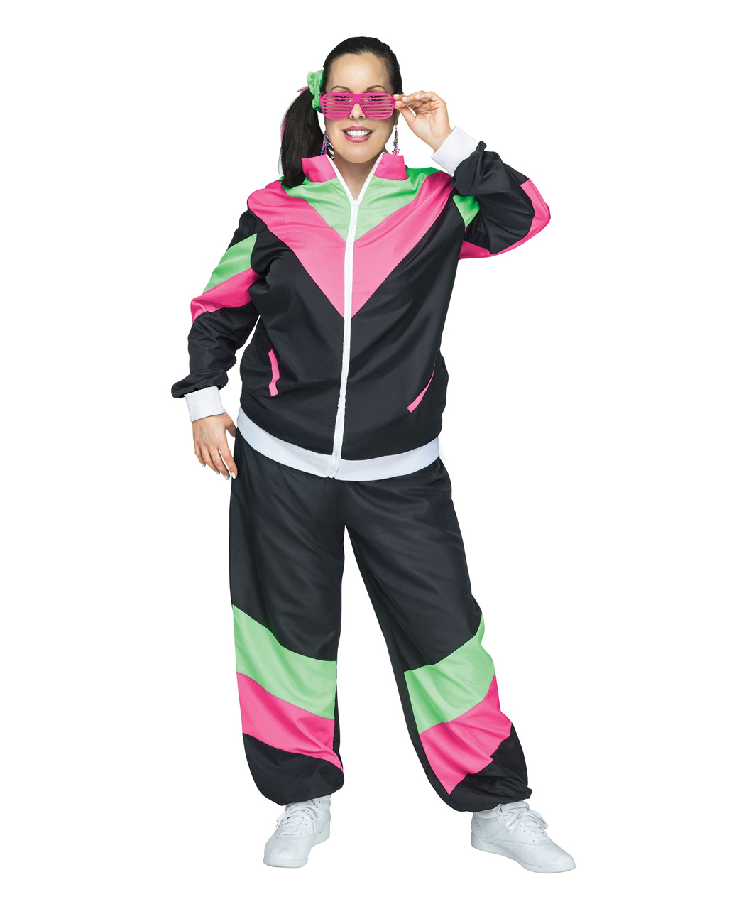 nice shoes release date: speical offer 80's Bad Taste Tracksuit Plus Size