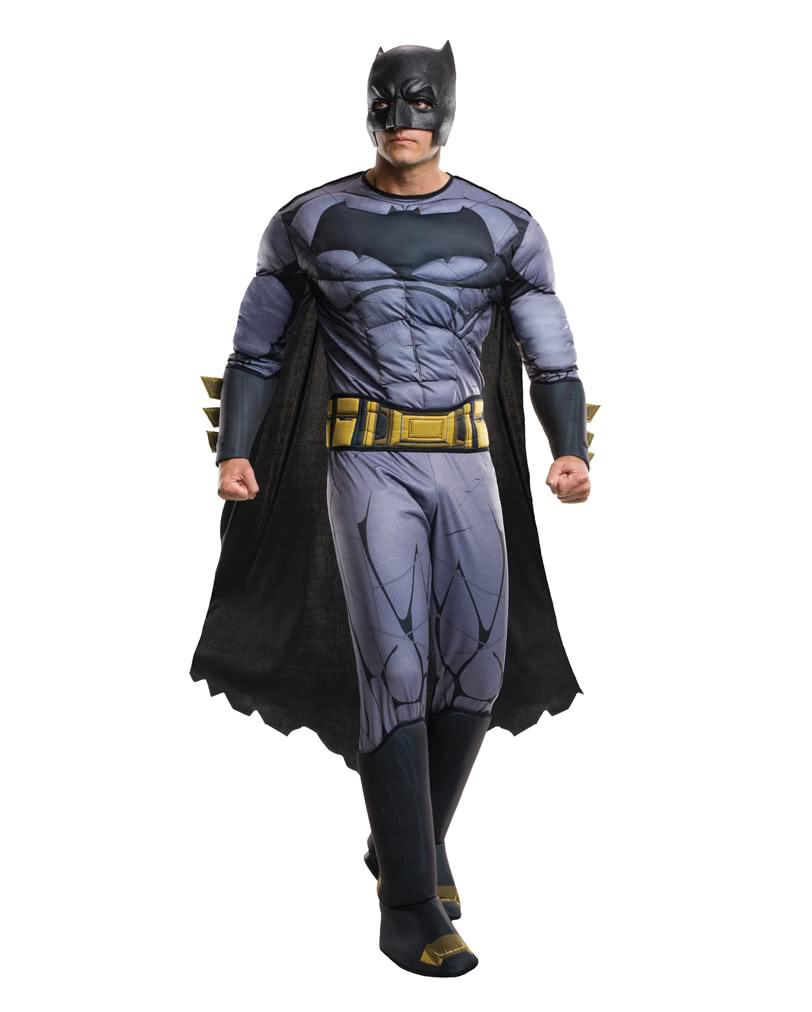 Batman vs Superman Dawn of Justice Deluxe Aquaman Muscle Hero Mens Costume