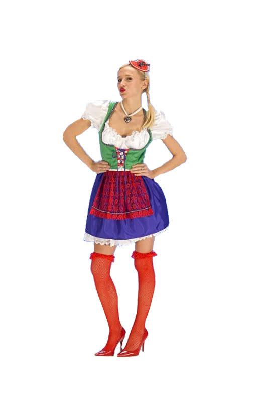 oktoberfest dirndl costume bavarian dress for women horror. Black Bedroom Furniture Sets. Home Design Ideas