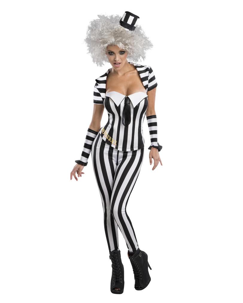 Beetlejuice Women S Costume Beetlejuice Halloween Costume Horror Shop Com