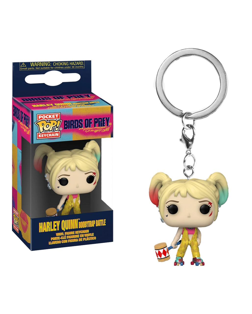 Birds Of Prey Harley Quinn Funko Pop Keychain Horror Shop Com