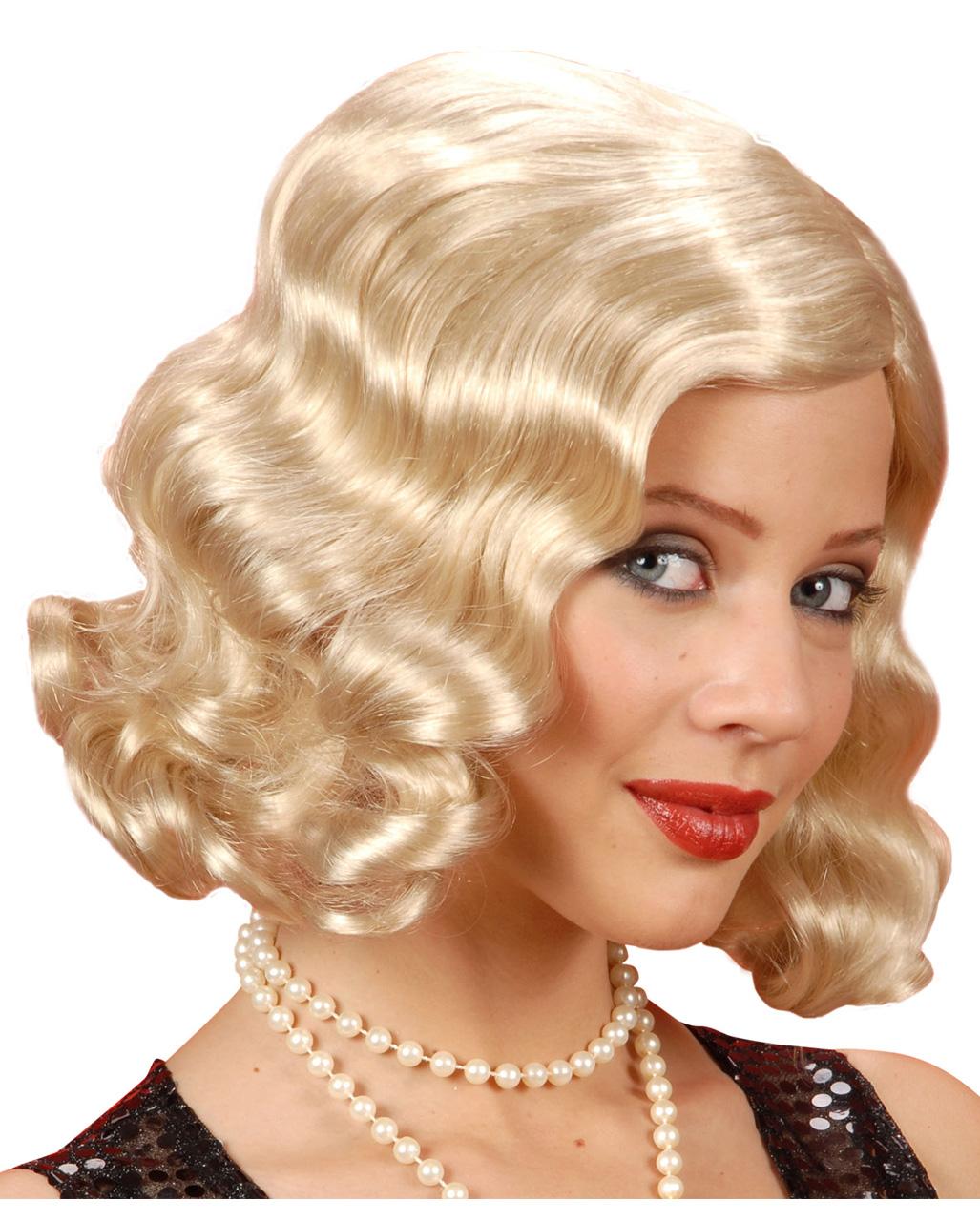 20er jahre per cke blond per cken g nstig kaufen horror. Black Bedroom Furniture Sets. Home Design Ideas