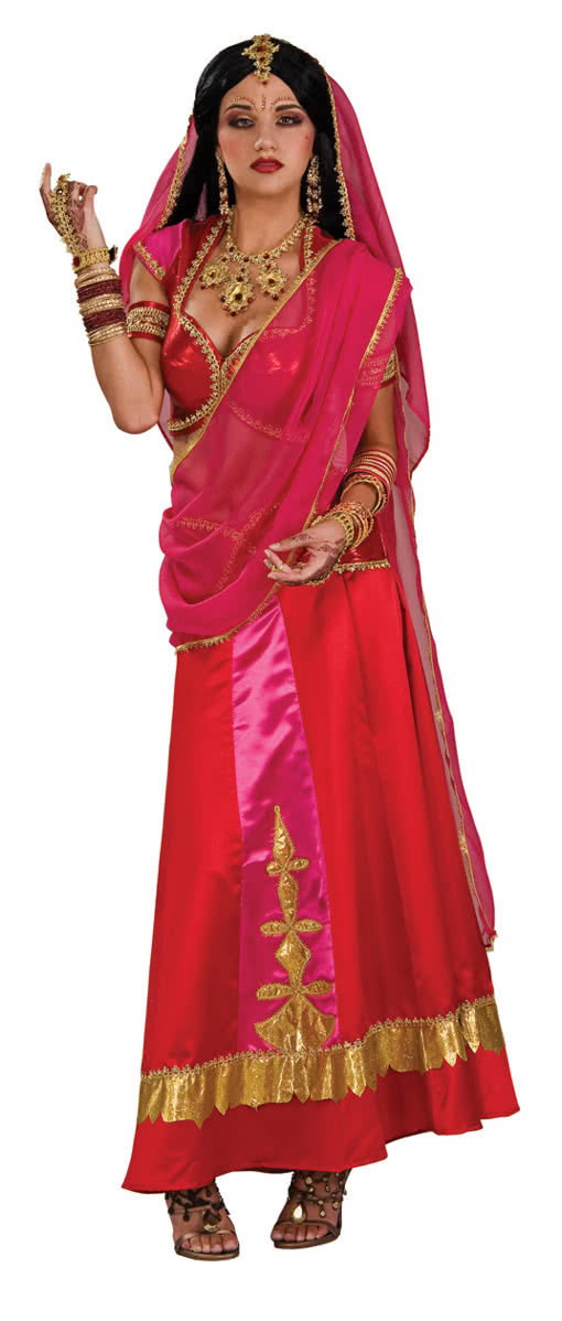 Bollywood Deluxe Kostum Orientalische Kostume Kaufen Horror