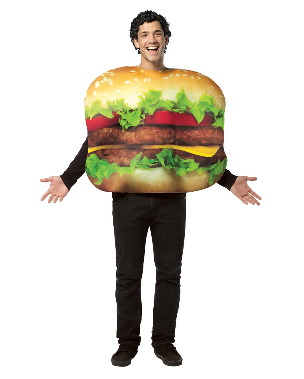 cheeseburger kost m f r karneval horror. Black Bedroom Furniture Sets. Home Design Ideas