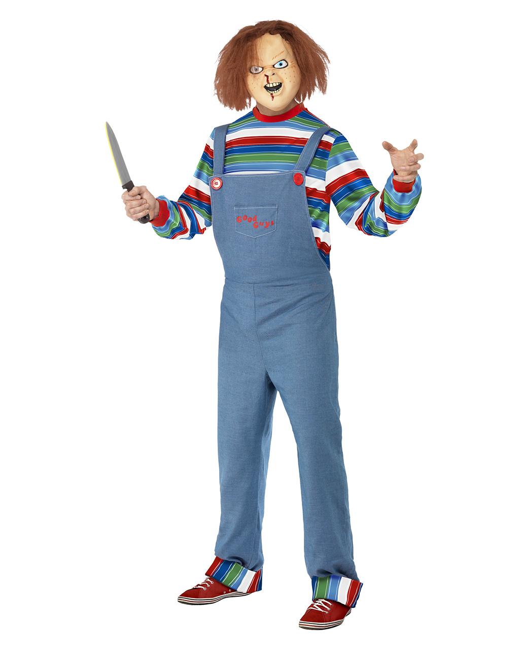 Kids Chucky WIG Evil Killer Doll Child/'s Play Halloween Horror Movie Fancy Dress