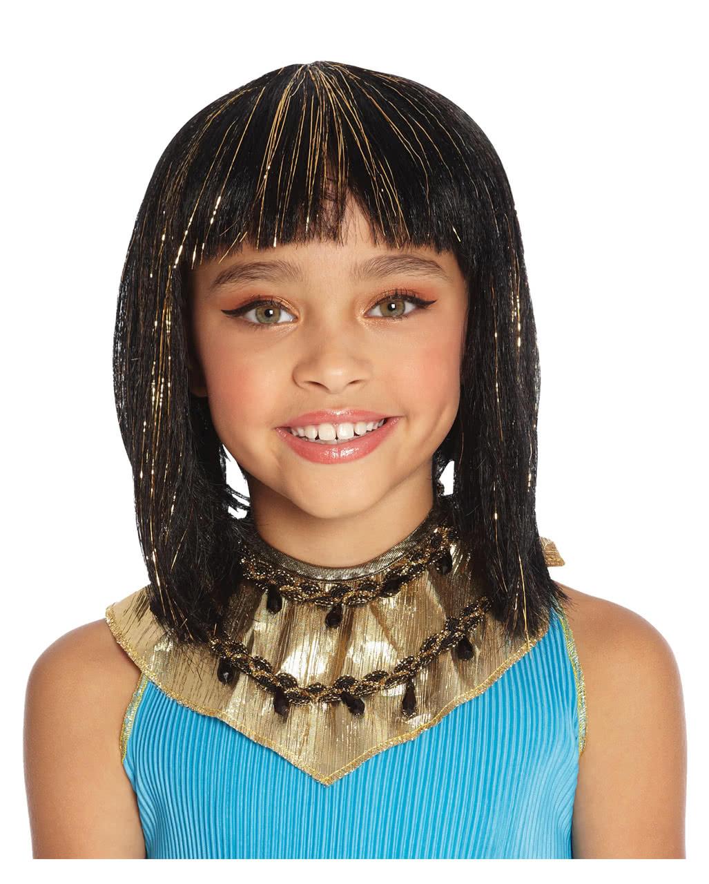 Kleopatra Kinderperucke Fur Halloween Horror Shop Com