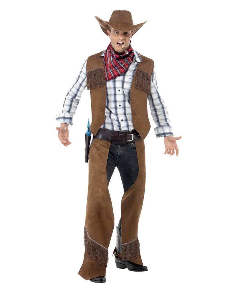 cowboy kost m mit hut f r deine wild west mottoparty. Black Bedroom Furniture Sets. Home Design Ideas