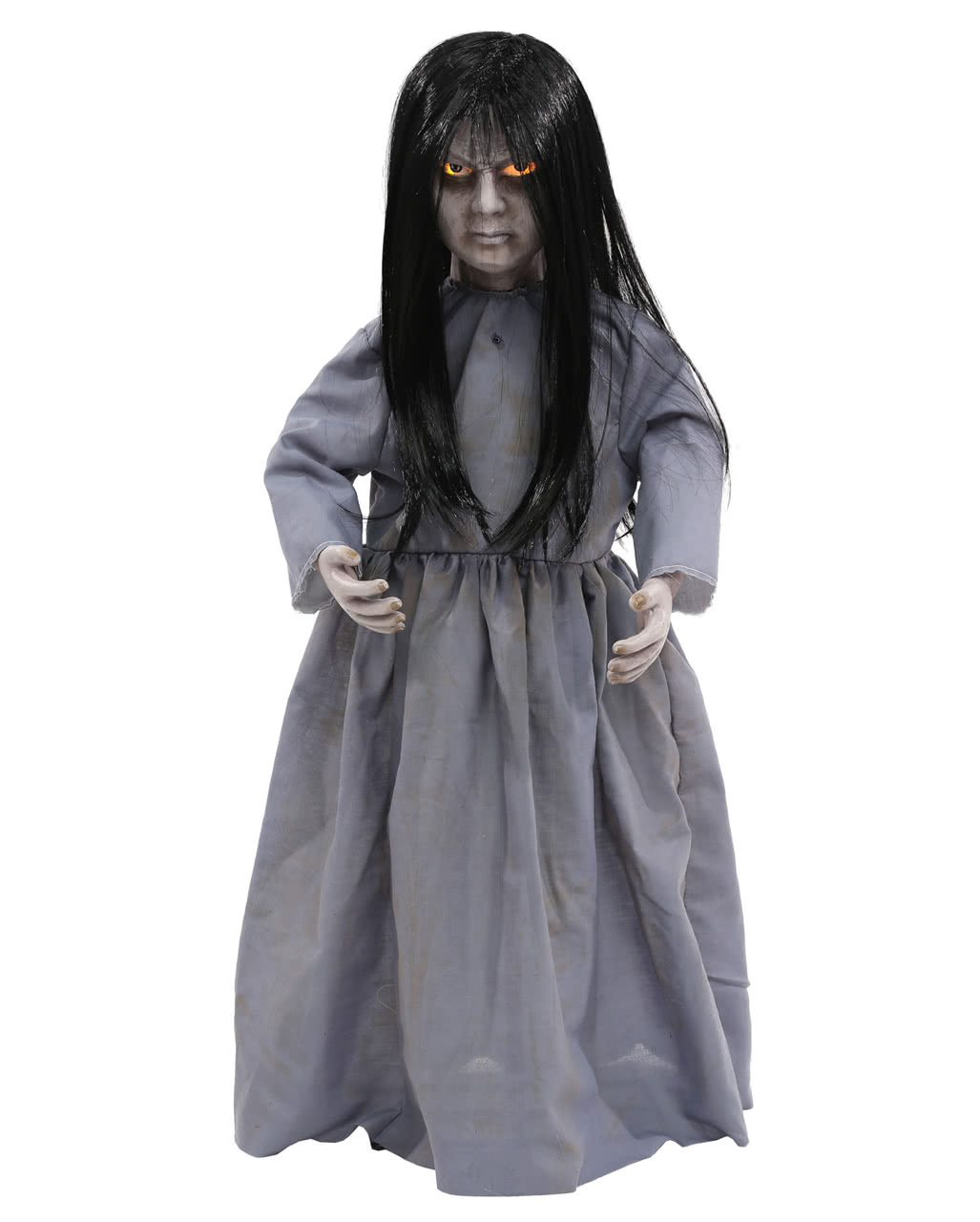 Creepy Demon Girl Doll Halloween Decoration
