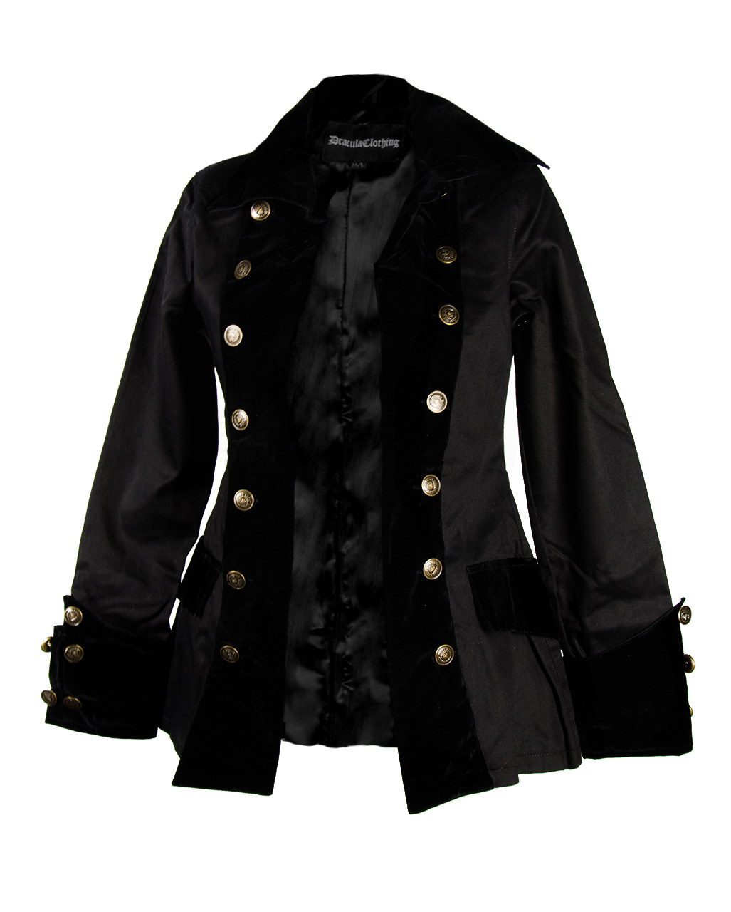 Jacket Pirate Black Jacket Ladies Ladies Pirate Black Ladies iPXZku
