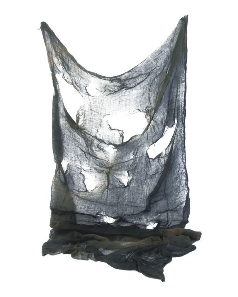 deko netz grau stoffnetz als halloween dekorationen. Black Bedroom Furniture Sets. Home Design Ideas
