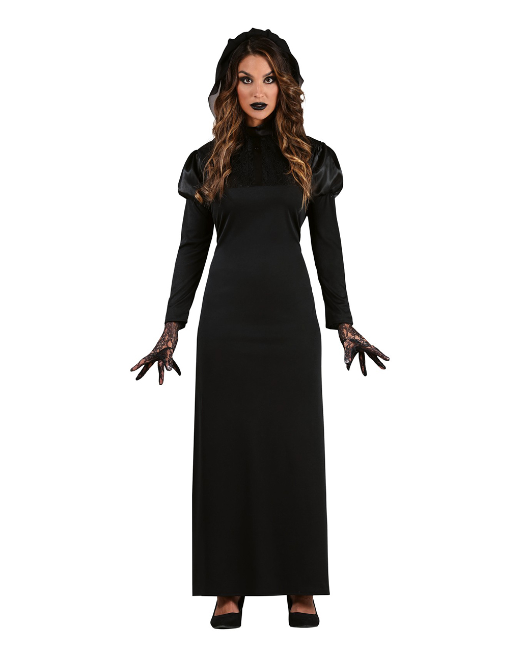 Elegant Widow Costume For Adults