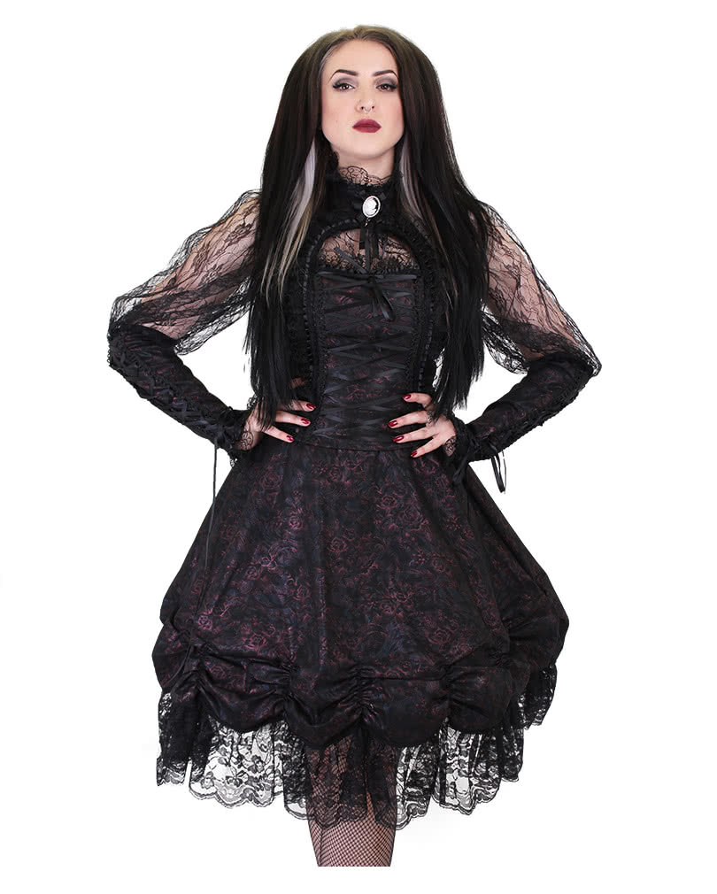 gothic lace skirt esme xxl gothic fashion phaze. Black Bedroom Furniture Sets. Home Design Ideas