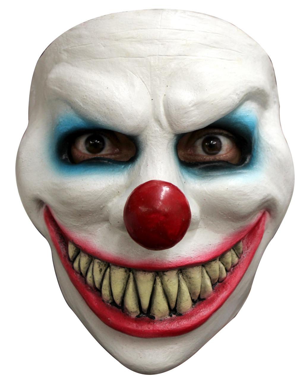 Evil Laugh Clown Mask Horror Clown Mask | horror-shop.com Scary Halloween Clown Masks