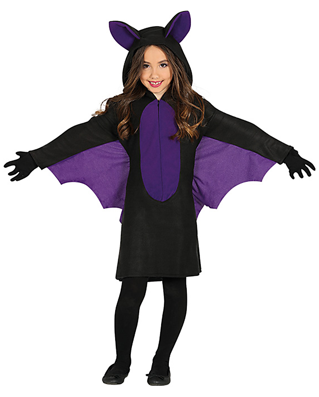 bat girl costume for halloween horror. Black Bedroom Furniture Sets. Home Design Ideas