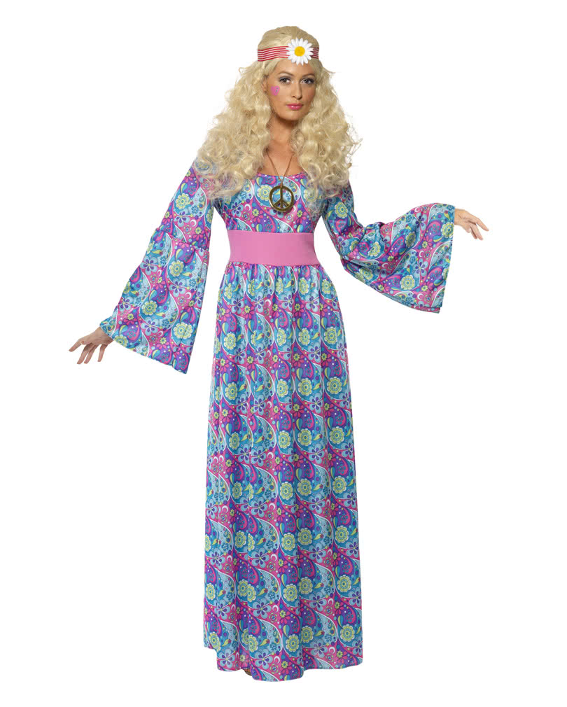 flower child costume maxi