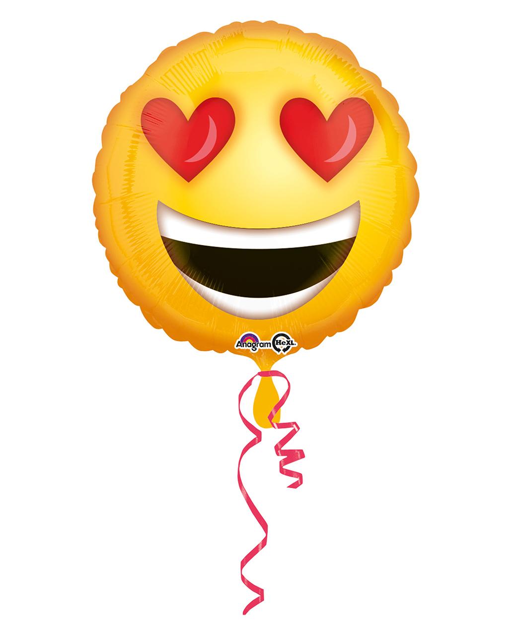 Folienballon Smiley Happy Birthday 43 cm Ballon