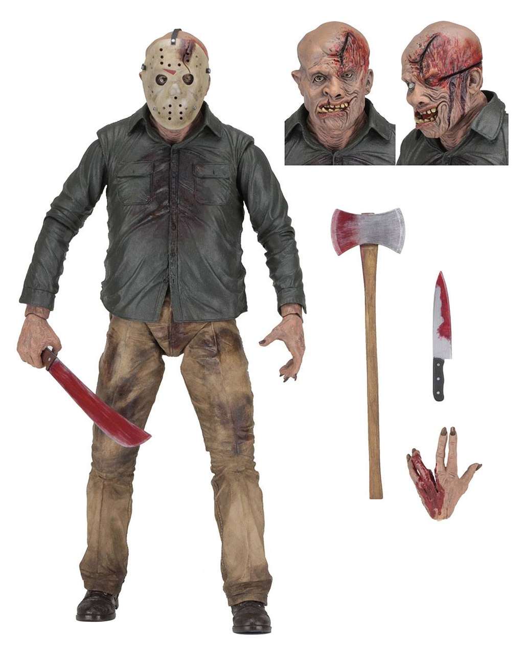 Friday The 13th Jason Voorhees Figure 46cm Horror Shop Com